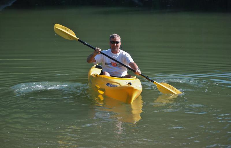 Me and my kayak
