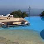 Infinity pool on Paros
