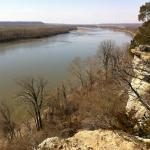 Missouri River from Weldon Springs Trail.